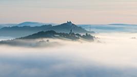 St. Georgen & Sonntagberg surrounded by Mist