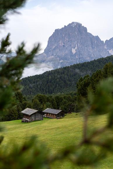 Seceda Huts & Sasso Lungo