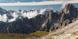 Dolomites (View from Tre Cime di Lavared)