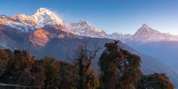 Annapurna South & Machapucharé