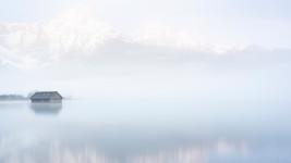 Misty Morning at Lake Almsee
