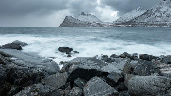 Gryllenfjord Coastline