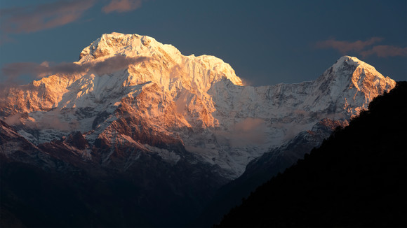 Annapurna South (Sunrise Colours)