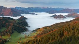 Autumn Morning in Upper Austria
