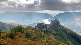 Ruin Aggstein (Autumn Colors)
