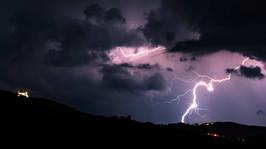 Thunderstorm at Basilika Sonntagberg