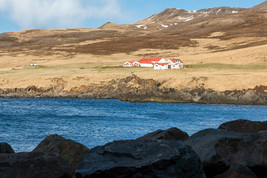Little Settlement in Northern Part of Iceland