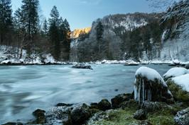 Enns during Winter