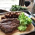 Bavette de bœuf Angus (250g) et Béarnaise