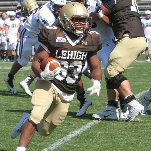 The return of #beastmode to the Mountain Hawks of Lehigh..