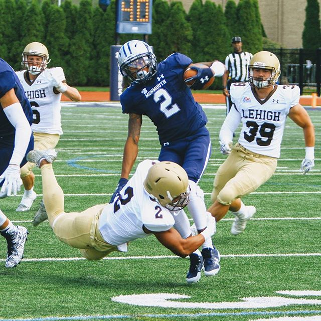 Quentin Jones on the tackle!! Impressive, aggressive, confident football will return to the Lehigh U