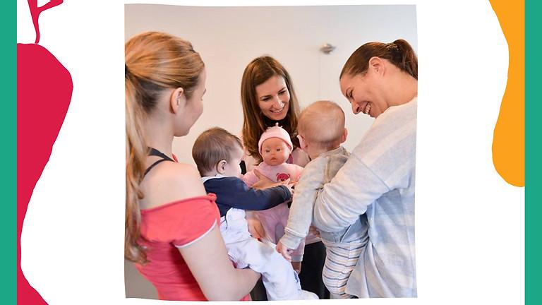 Yoga para Bebés dos 2 aos 8 meses