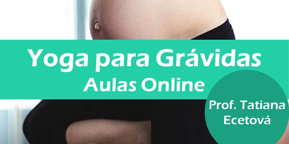 Aulas Online | Yoga para Grávidas