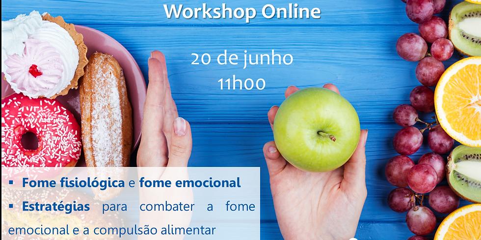 Workshop Como Gerir a Fome Emocional | Online