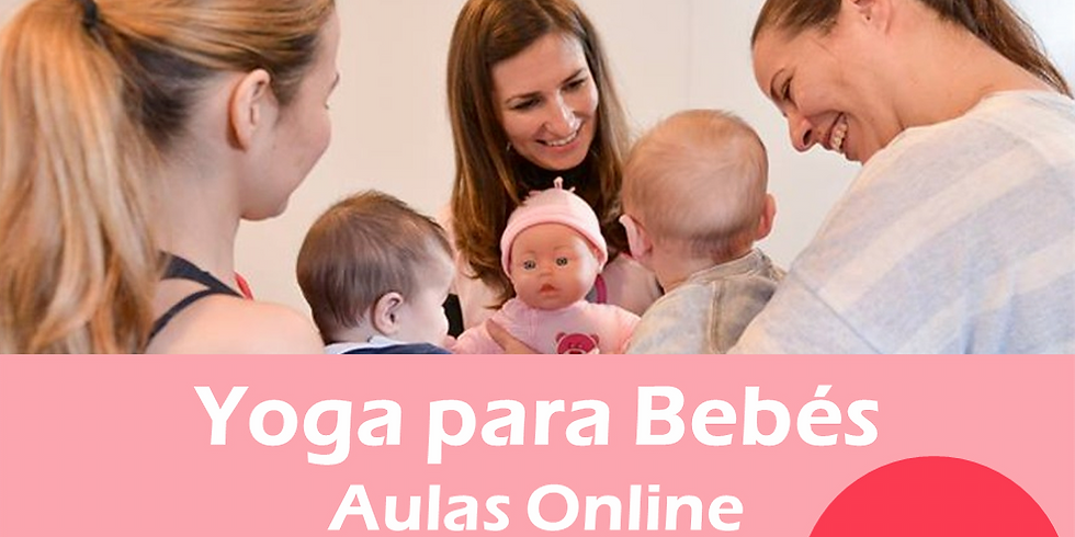 Aulas Online | Yoga para Bebés 2-8M
