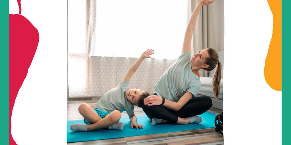 Yoga para Bebés dos 2 aos 3 anos