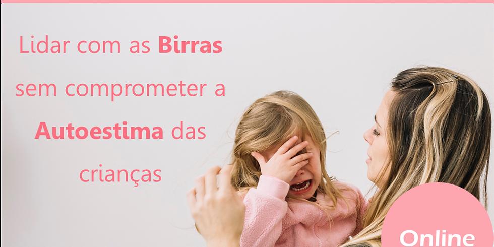 Workshop Online   Lidar com as Birras sem comprometer a Autoestima das Crianças