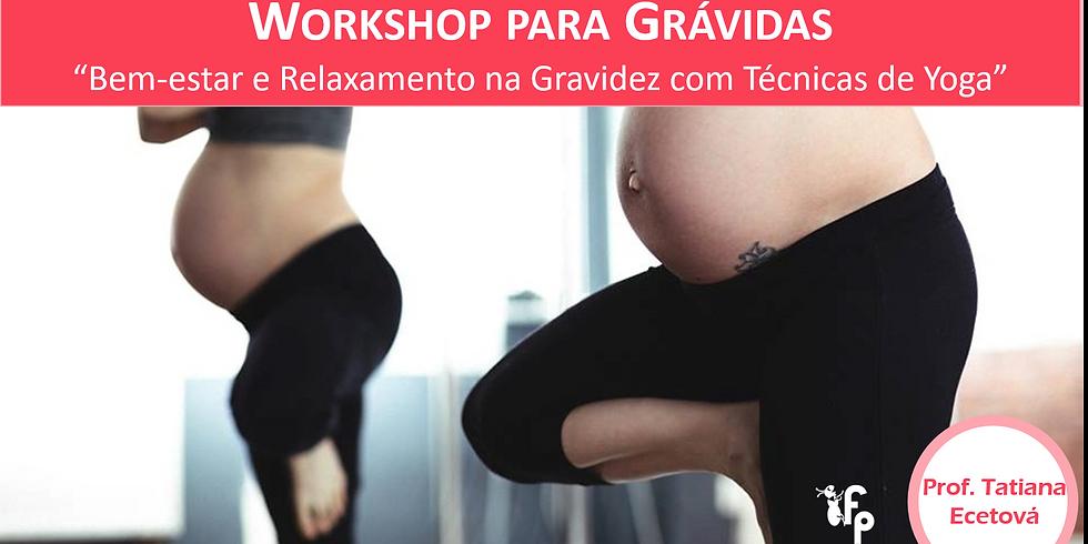 Workshop Online | Gravidez: Bem-estar e Relaxamento com Técnicas de Yoga