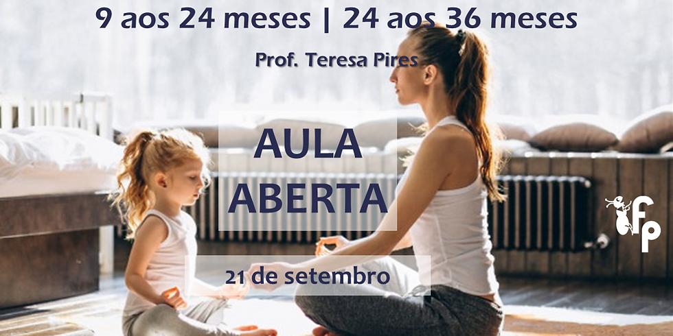Aula Aberta   Yoga para Bebés