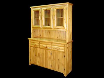 White Cedar 3 Door Hutch