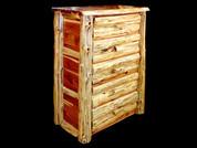 Rustic Red Cedar 5 Drawer Dresser
