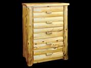 White Cedar 5 drawer dresser