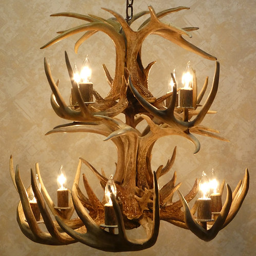 Sale Price Whitetail Deer Antler Chandelier Two Tier