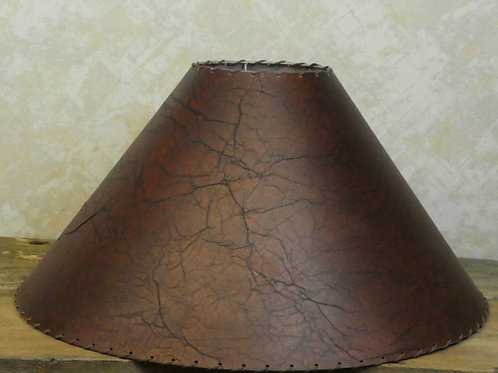 Lamp Shade w/ Leather String 24x14x7
