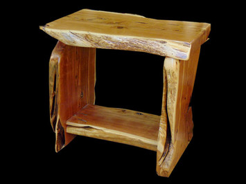 Natural Cut Table / TV Stand