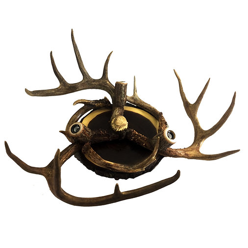 3 Light Real Antler Ceiling Fixture