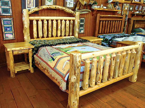 White Cedar Queen Sized Bed