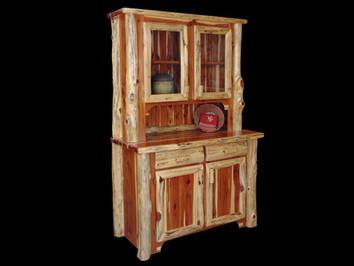 Red Cedar 2 Door Hutch