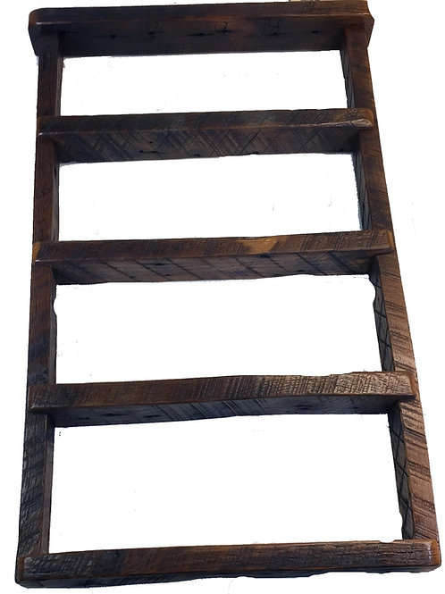 Reclaimed Barnwood Medicine Shelf Small