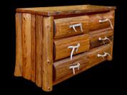 Stained White Cedar Dresser