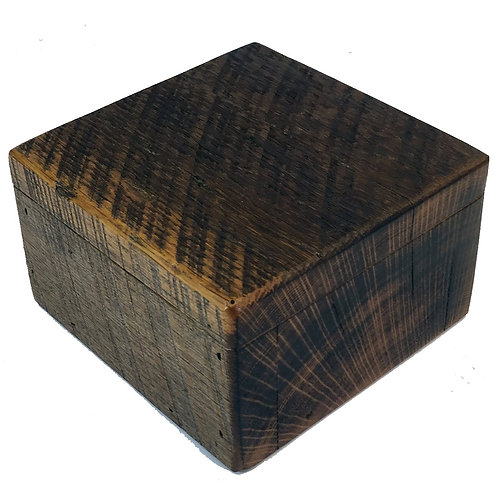 Reclaimed Barnwood Jewelry Box Small