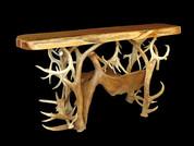 Elk-Moose Antler Table