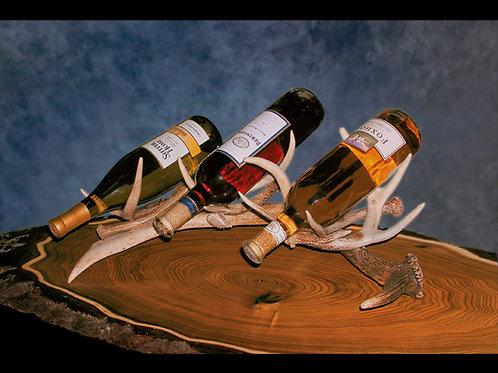 Antler Triple Wine Bottle Holder
