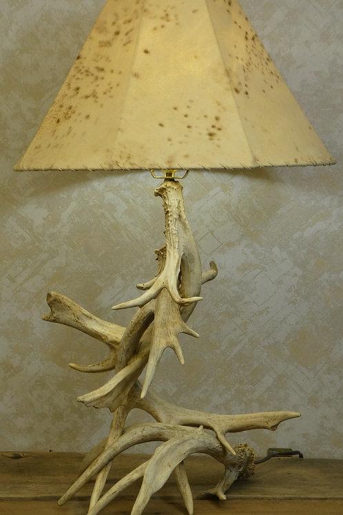3 Antler Real Whitetail Antler Table Lamp