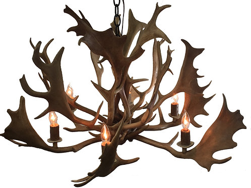 Fallow Deer Antler Chandelier Extra Large