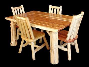 Red Cedar Dinette Set
