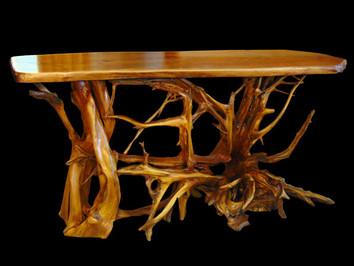 Natural Root Sofa Table