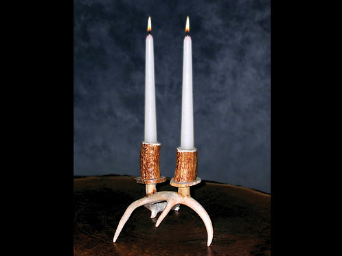 Antler Double Candle Holder