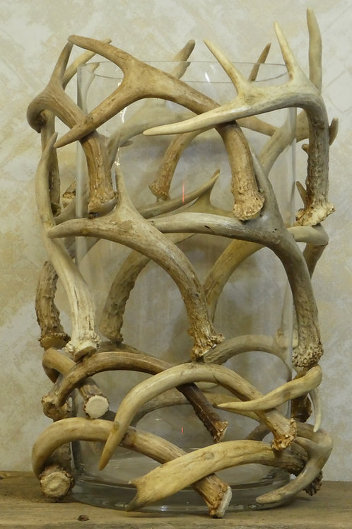 Antler Bowl Glass Vase