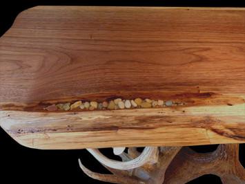 Elk - Moose Antler Table Detail