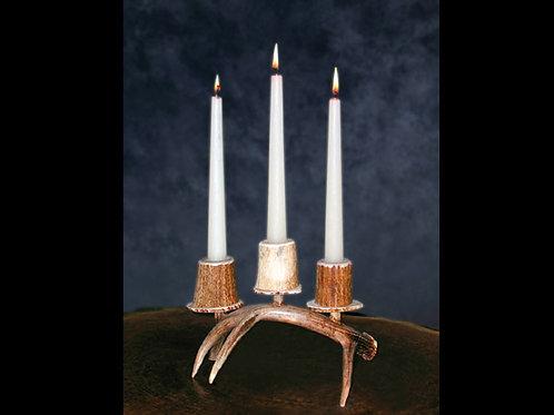 Antler Triple Candle Holder