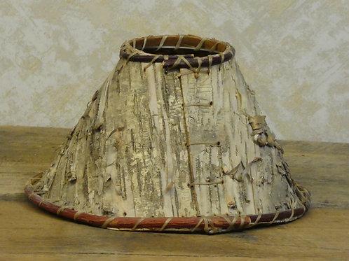 """Birch bark Lamp Shade 9x5"""""""