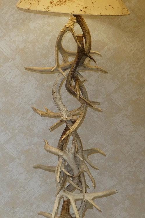 Whitetail Antler Floor Lamp
