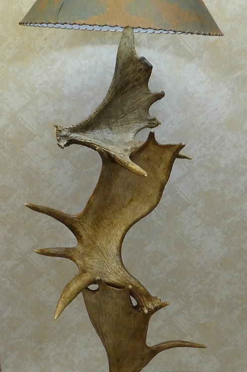 Moose Antler Floor Lamp