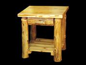 Rustic White Cedar Night Stand