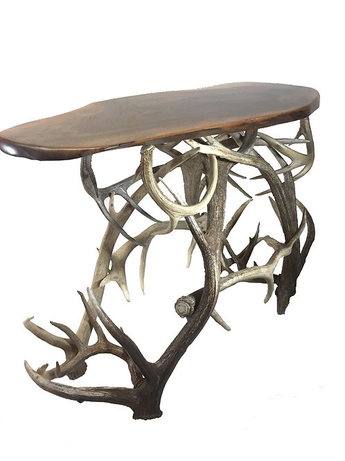 Real Elk Antler Sofa Table